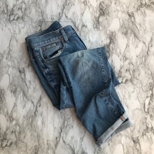 J. Crew • Slim Broken In Boyfriend Jeans